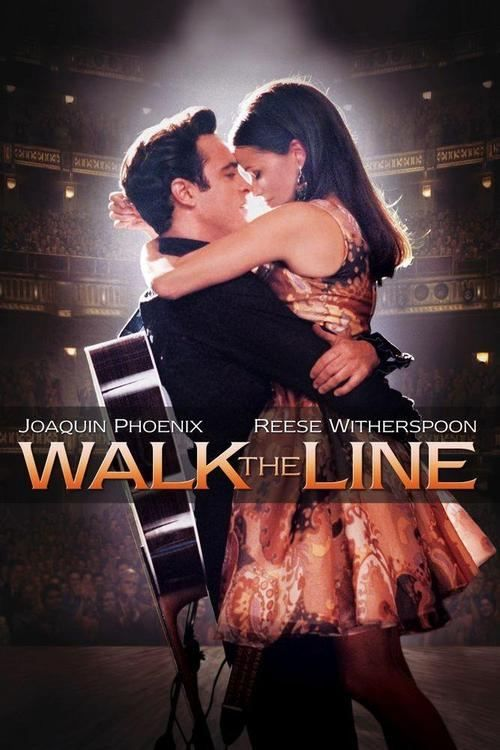 Walk the Line (2005). The love story of Johnny Cash (Joaquin Phoenix) and June Carter Cash (Reese Witherspoon).