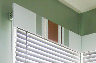 Adorn your windows with handmade cornices.