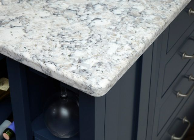 Viatera Quartz Everest | Details Of Kitchen Viatera® Everest Quartz