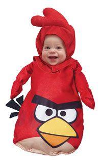En colère oiseaux oiseau rouge Costume bébé en colère - Oiseaux Costumes