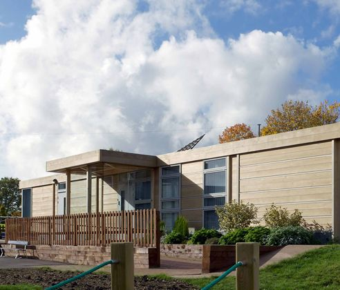 EcoCanopy is a high-quality pre-engineered building manufacturer which produces products designed and developed by Bryden Wood.