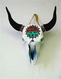 Image Search Results for painted cow skulls