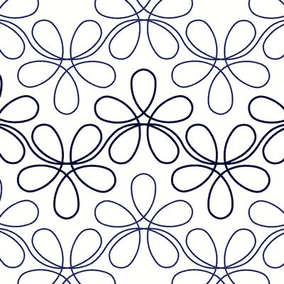 Flower Child - Digital - Quilts Complete - Continuous Line Quilting Patterns