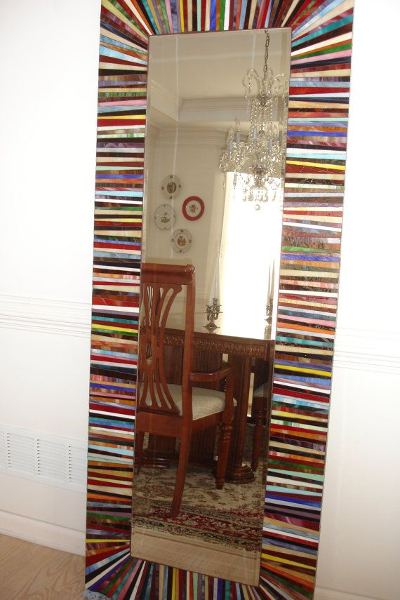 Mosaic Mirror Large by jeaninealfredsson on Etsy