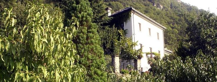 L'incantevole agriturismo di Patrizia a pochi passi da casa nostra in Valle D'Aosta ... A Chatillon esattamente.