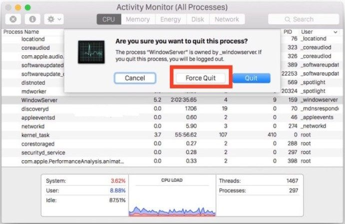 Force Quit Mac Apps How To Force Quit Mac Applications With