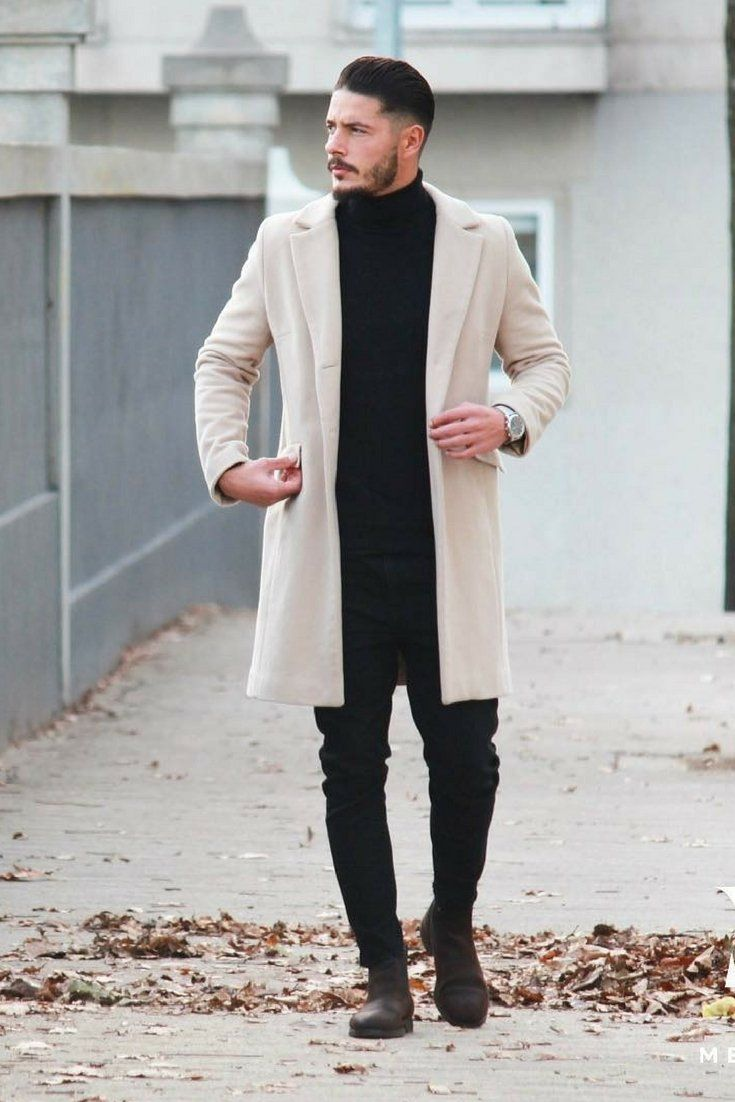 Overcoat Outfits For Men in 2020