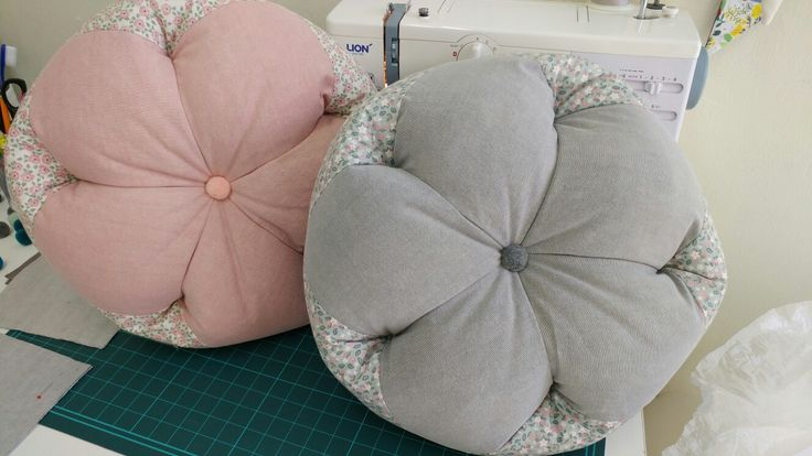 Flower cushions