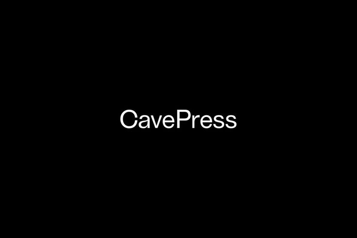 Cave Press by Josiah Craven — The Brand Identity
