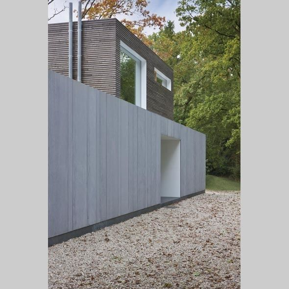 Passive house in Belgium. arch: e projecten & Fierens. Facade: EQUITONE [tectiva]. www.equitone.com #architecture #material #facade
