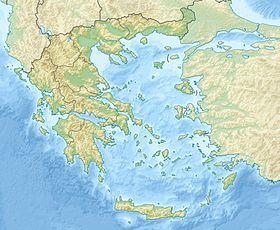 Voir la carte topographique deGrèce