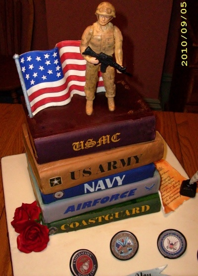 Military Cake By JWinslow on CakeCentral.com