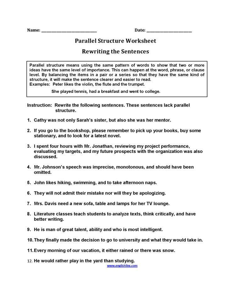Structure Worksheets - defendusinbattleblog