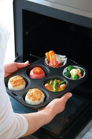 準備が出来たらオーブンに入れて、あとはお任せ♪ この間に、あと片づけやほかの家事を済ませちゃいましょう!