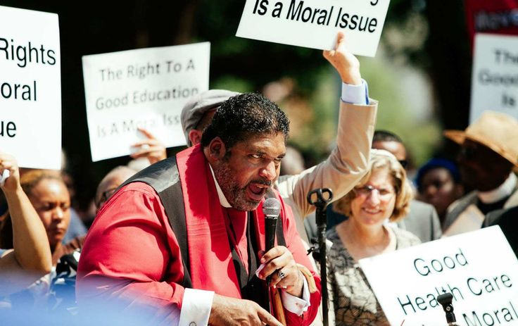 "The Rev. William Barber Is Bringing MLK's Poor People's Campaign Back to Life    Barber is stepping down from his post at the North Carolina NAACP to lead what he calls a ""national moral revival."""