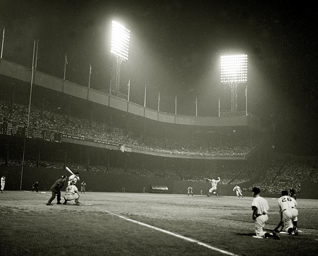 Night Baseball at the Polo Grounds