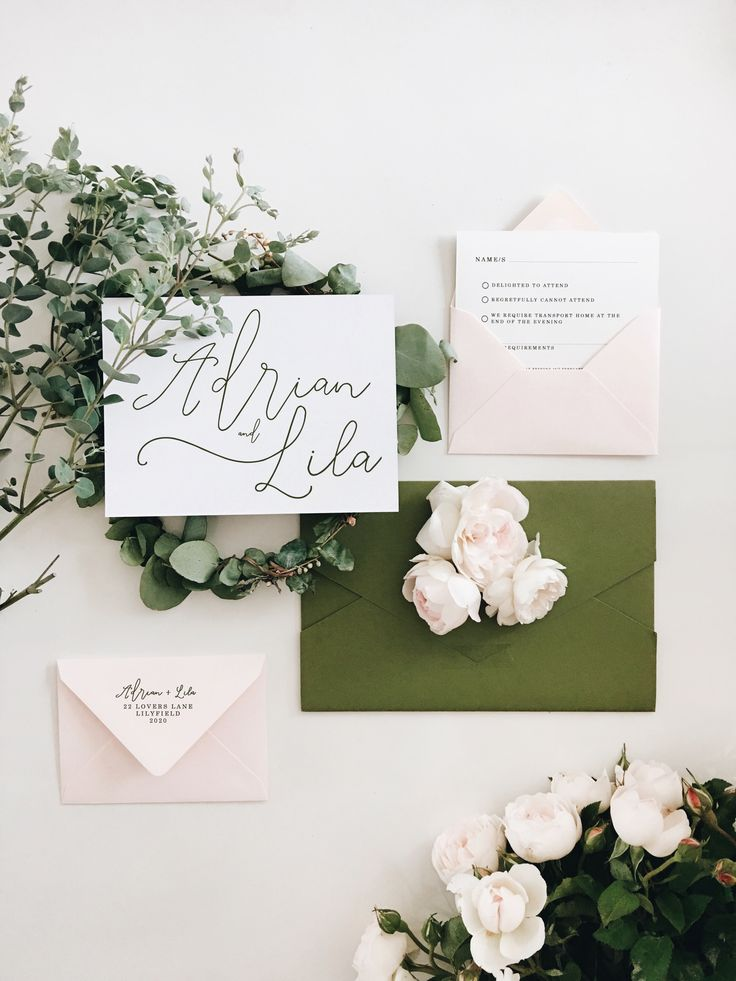 Wedding invitation by THE STORY OF US