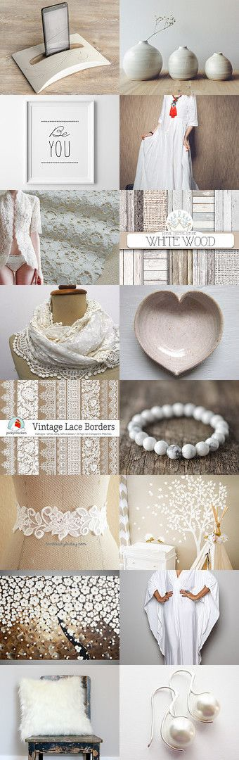 White wish list by Csilla Molnar on Etsy--Pinned with TreasuryPin.com