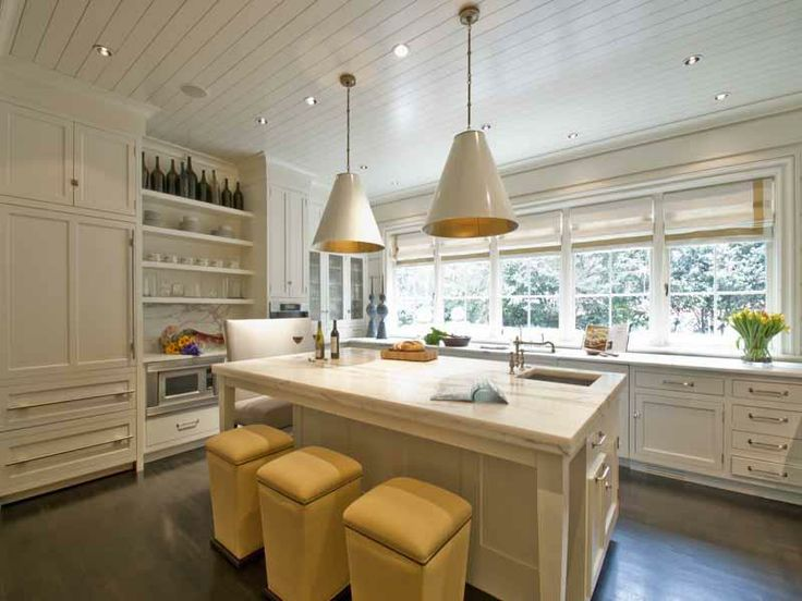 Large Kitchens Design Ideas 491 best beautiful white kitchens! images on pinterest | white