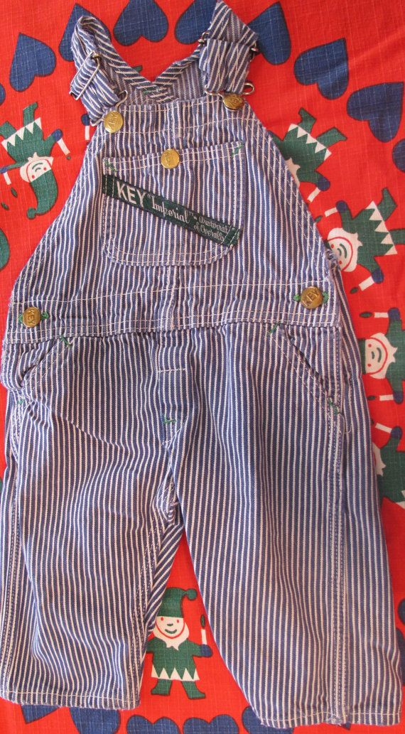 Baby Key Overalls 36 Months by lishyloo on Etsy, $12.00