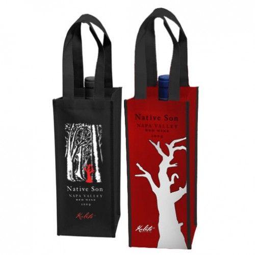 Single Bottle Wine Bag