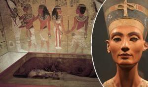 Skrývá se hrob královny Nefertiti v Tutanchamonově hrobce? Archeolog tvrdí, že tam objevil tajný vchod!