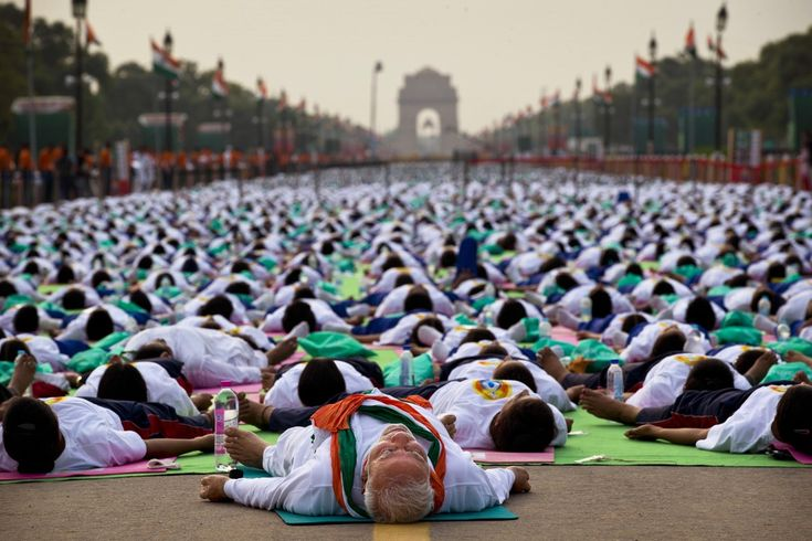 Heres What International Day Of Yoga Looked Like Around The World