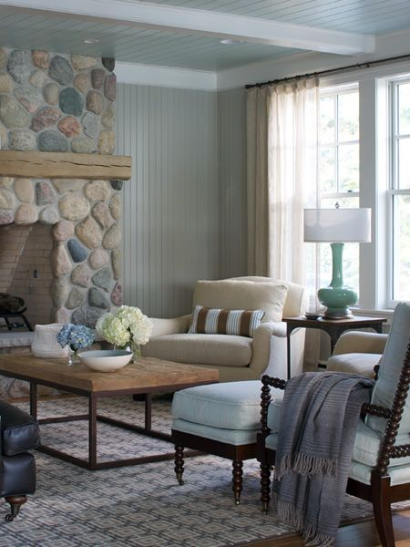 Love The Fireplace Rock Work! Great Pictures