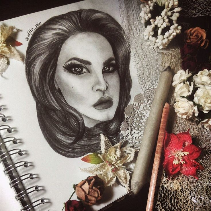 Лана дель рей арт #lanadelrey #art #pencil #realism #cool #blogger http://www.yanathedreamer.blogspot.com/
