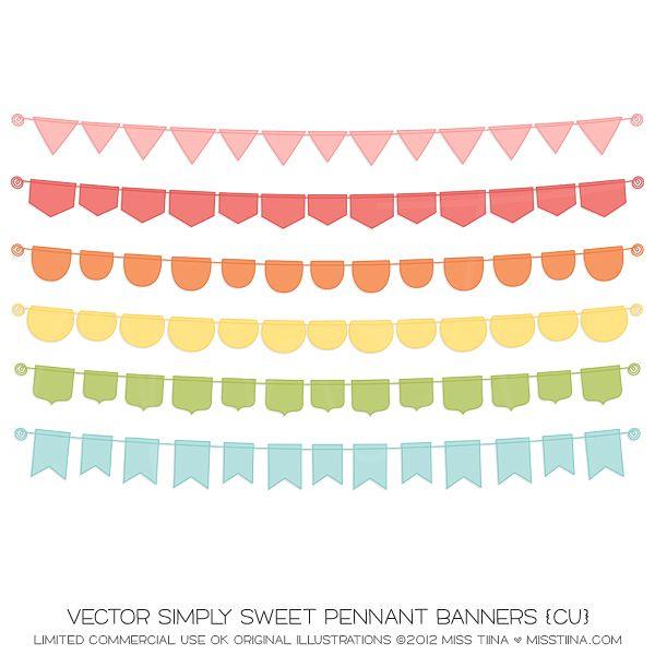Vector Blue Yellow Gift Voucher Templates Etsy Pinterest - pennant banner template