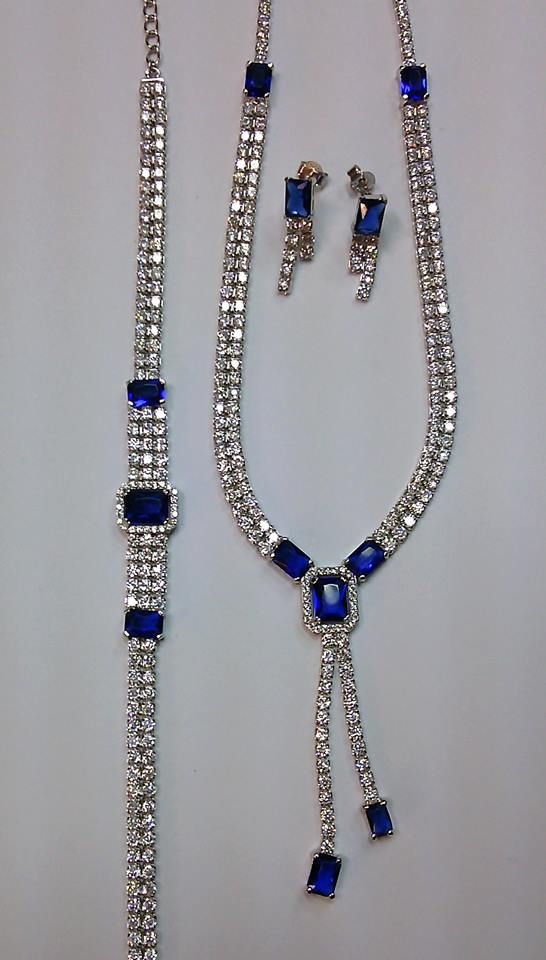 Beautifull jewellery - silver necklace, earring and bracelet  / biżuteria srebrna - piękna kolia, kolczyki i bransoletka