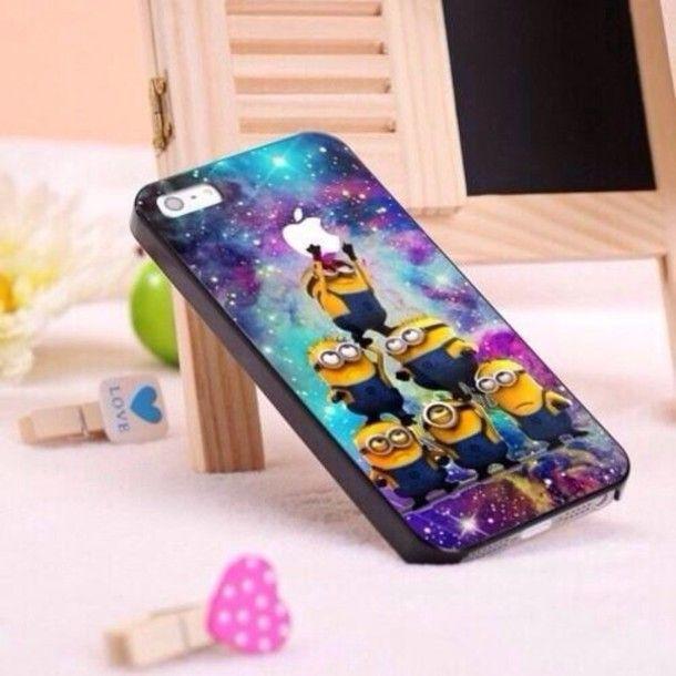 jewels minions minion phone case iphone 5 iphone 5 case iphone case cute apple