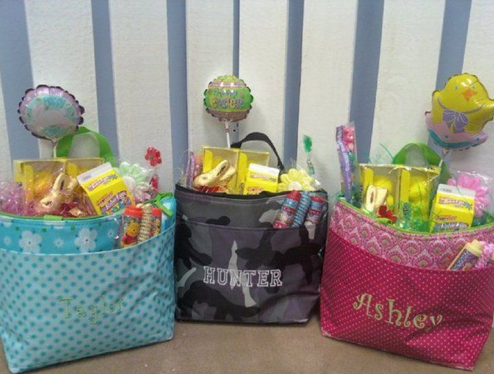 100 best baby easter baskets images on pinterest easter baskets thirty one thermal tote for easter would be a super cute baby shower gift basket negle