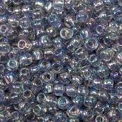Toho siemenhelmi 8/0 läpinäkyvä sateenkaari harmaa [Transparent Rainbow Black Diamond], 20 g