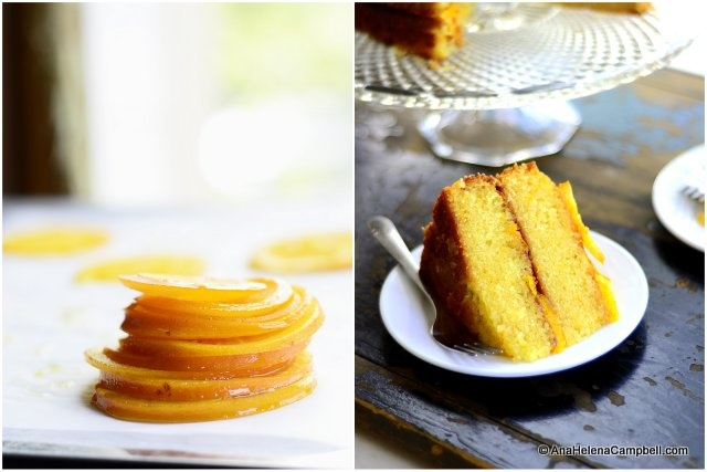 Oilive Oil Cake with Candied Oranges | Made by Me | Pinterest