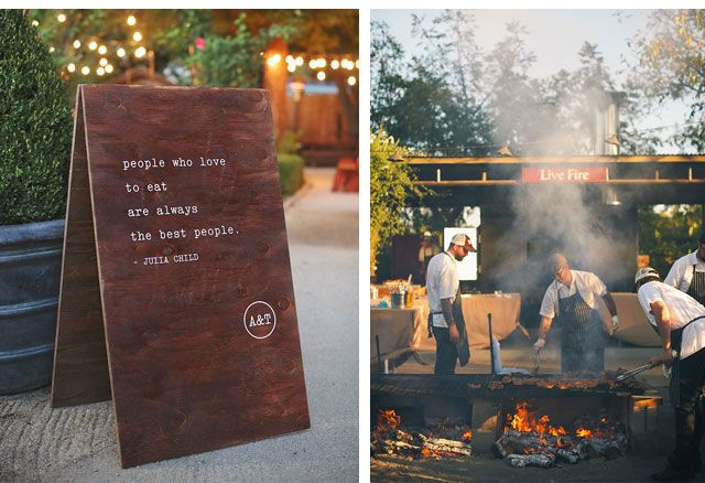 A food-centric celebration where a live cookout is part of the experience.