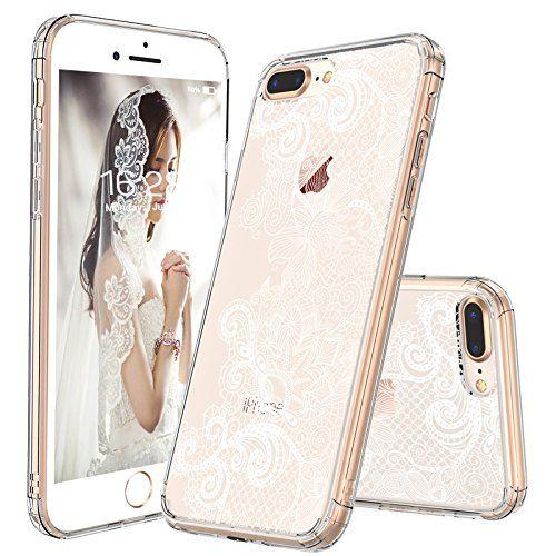 iPhone 8 Plus Case, Clear iPhone 7 Plus Case, MOSNOVO Whi… www.amazon.com/…