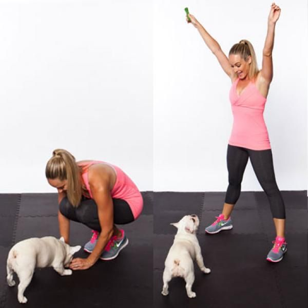 Roll Over Extension - Home Workout You Can Do with Your Dog - Want to workout with your dog at home? I can help :) comment below!