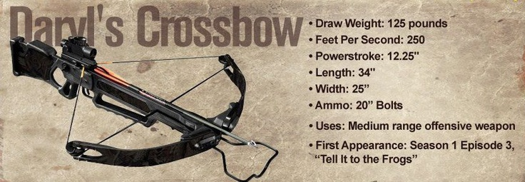 daryl dixons crossbow emergency preparedness