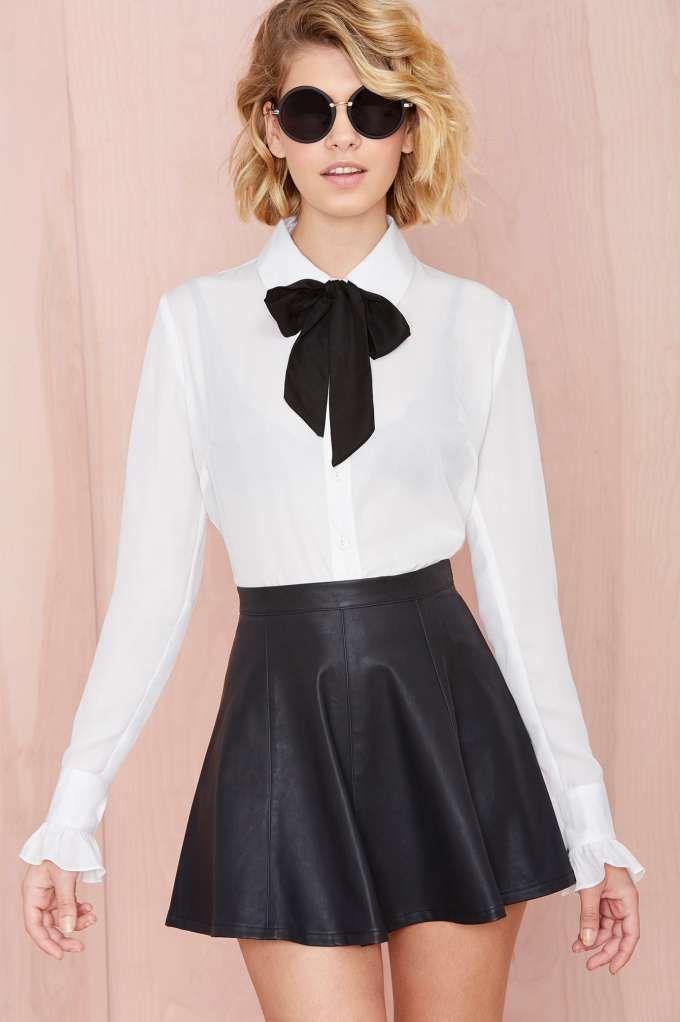 Nasty Gal Vicious Circle Skirt
