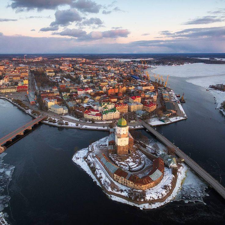 г.Выборг, башня св.Олафа // St.Olaf's tower, Vyborg #Russia #Россия