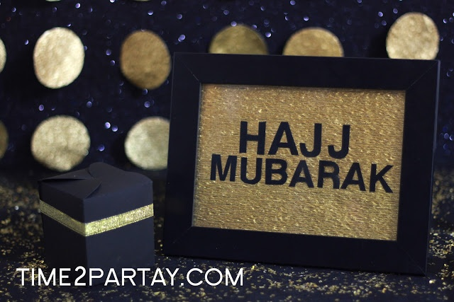 Hajj Mubarak!-I like the picture frame
