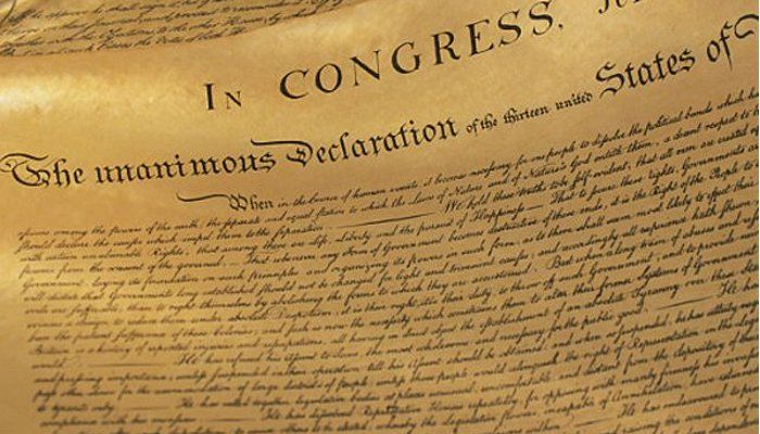 THE PRICE OF LIBERTY ~ Have you ever wondered what happened to the 56 men who signed the Declaration of Independence?  Five signers were captured by the British as traitors, and tortured before they died. Twelve had their homes ransacked and burned. Two lost their sons serving in the Revolutionary Army; another had two sons captured. Nine of the 56 fought and died from wounds or hardships of the Revolutionary War.  [...] 07/04