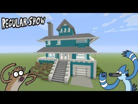 """http://minecraftstream.com/minecraft-tutorials/minecraft-tutorial-how-to-make-the-regular-show-house-regular-show/ - Minecraft Tutorial: How To Make The Regular Show House """"Regular Show""""  In this tutorial i show you how to make the Regular Show house! this is a really awesome house from an awesome show! hope you enjoy :)!!! Cartoon/Movie Houses – https://www.youtube.com/playlist?list=PLVfyBBWTXosAdWj4ZsG8EhBtlW6vWfJMN Twitter – @TSMC360 Check Out My Figurine You"""