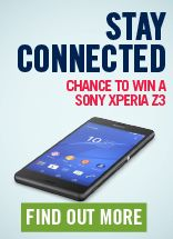 Our monthly online giveaway, this month have a chance to win the amazing Sony Xperia Z3 :)