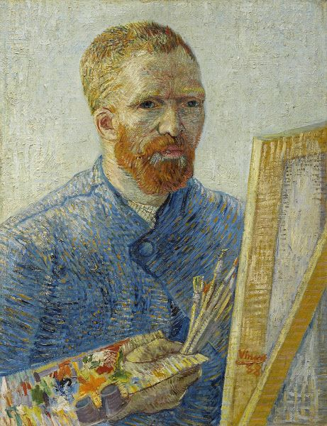 "Vincent van Gogh (1853-1890), ""Self-Portrait as a Painter"" - Van Gogh Museum ~ Amsterdam, The Netherlands"