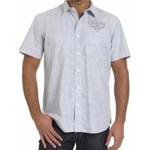 Chemise Homme CUAPA, Chemise manches courtes homme de marque Oxbow. 2 Poches sur la poitrine, broderie sur le devant avec un patch dans le dos...sur www.shopwiki.fr ! #chemise_homme #vetement_homme #mode_homme