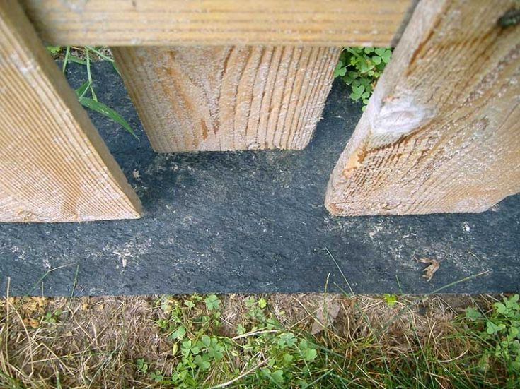 Weedseal Fence Guard Also Search Mow Strip Weed Fence