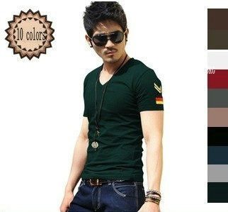 Men's Short Sleeve T Shirt Slim fit - Get this on Today's #dailydeal
