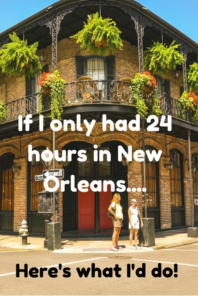 Only have 24 hours in New Orleans? We've got you covered on the can't miss things to do while you are in New Orleans. Read the blog now!